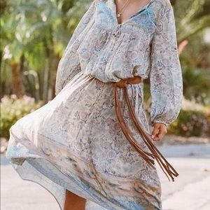 Spell oasis boho gown